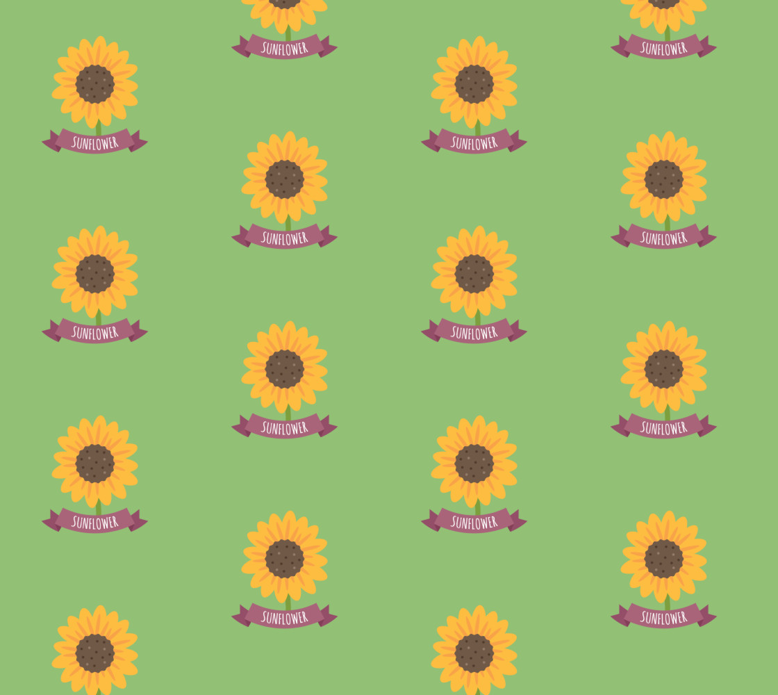 Sunflower  Miniature #1