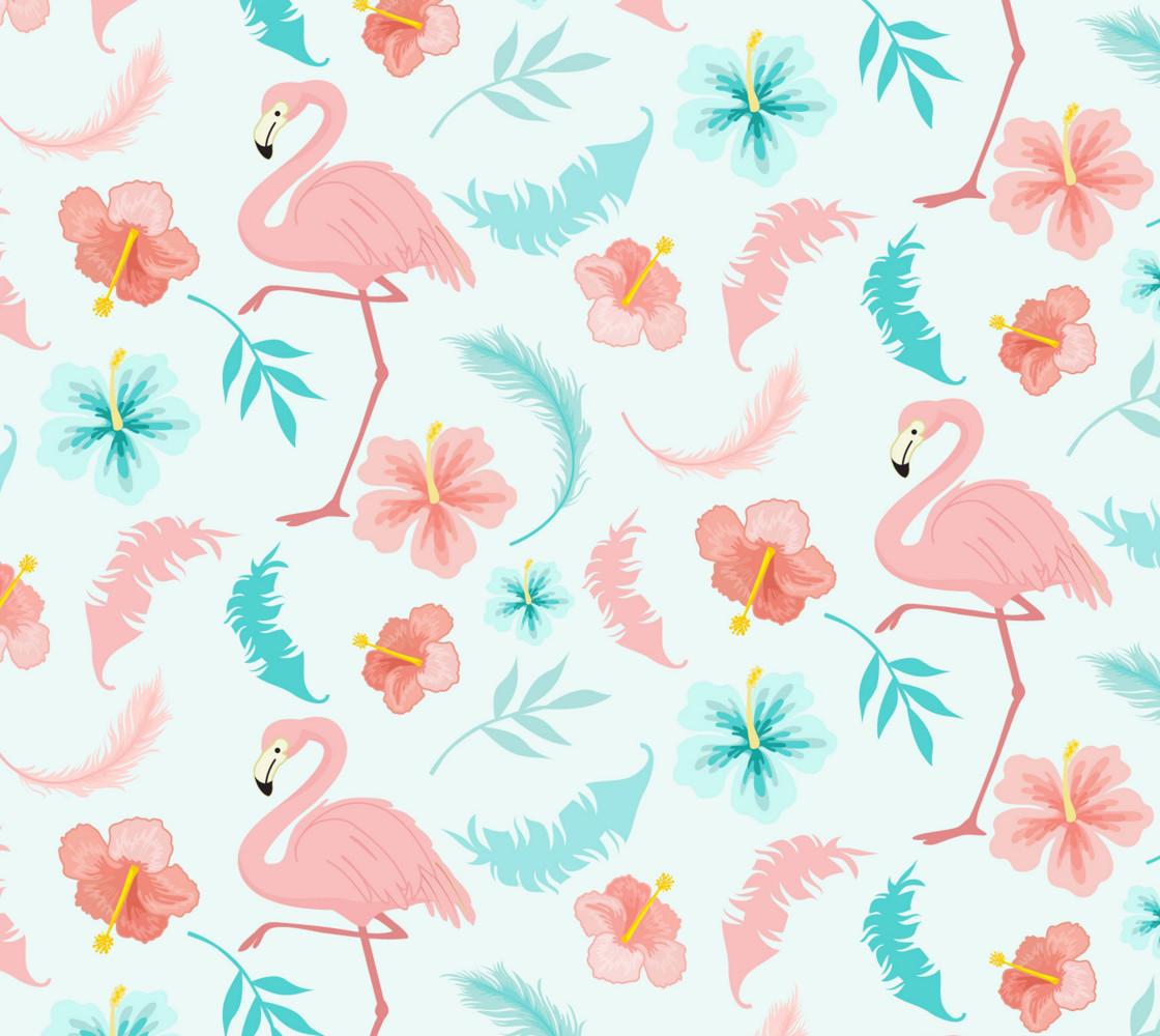 Fancy Flamingos Miniature #1
