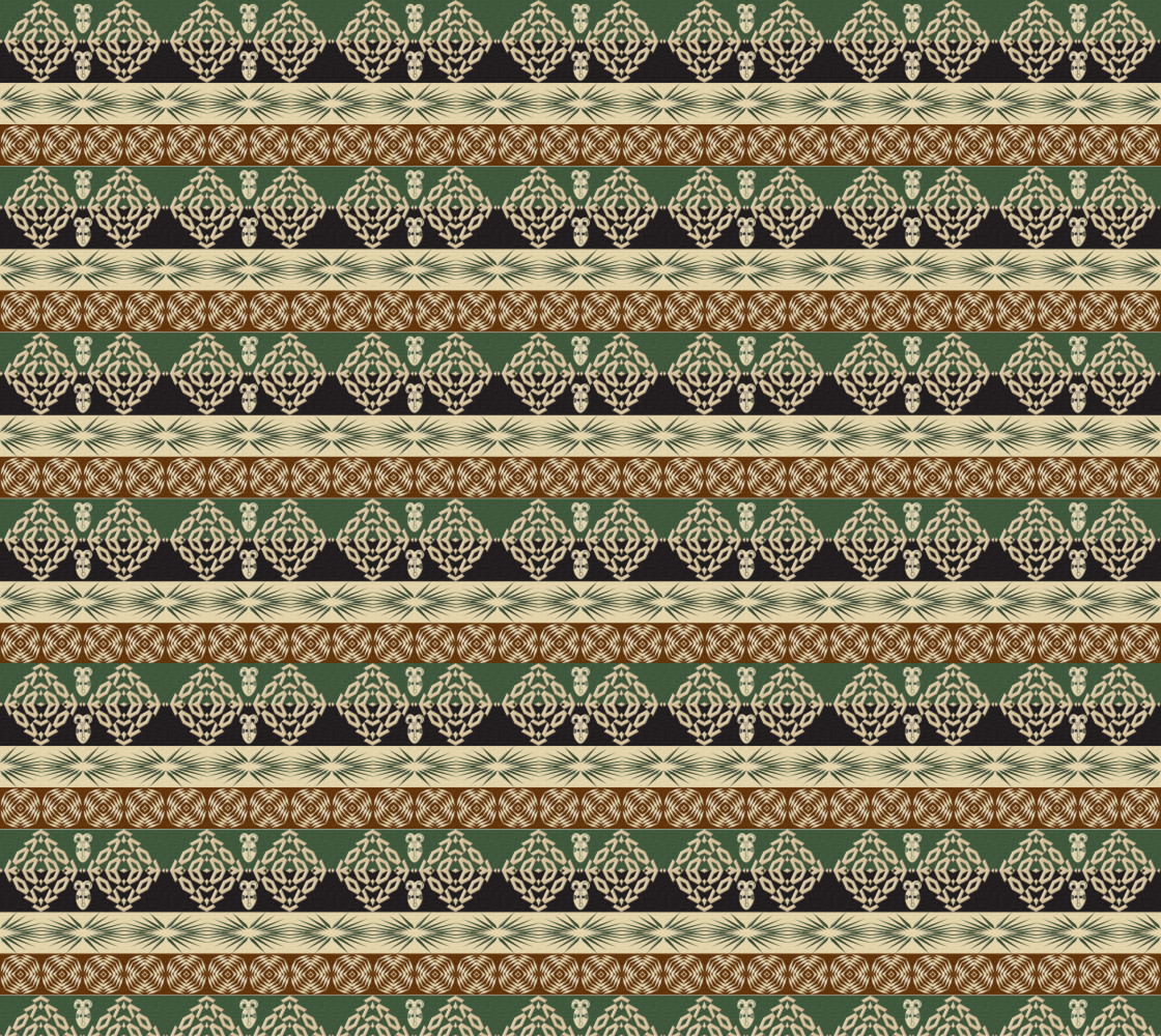 Ethnic african tribal pattern Miniature #1