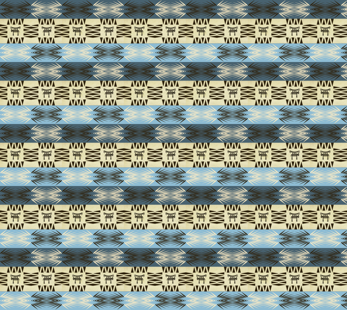 ethnic african tribal seamless pattern thumbnail #1