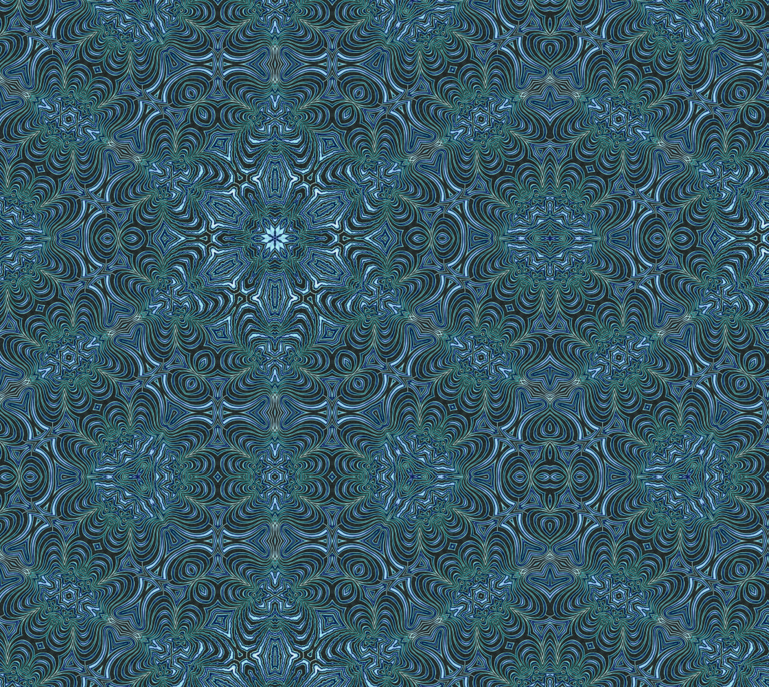 Blueflake Miniature #1