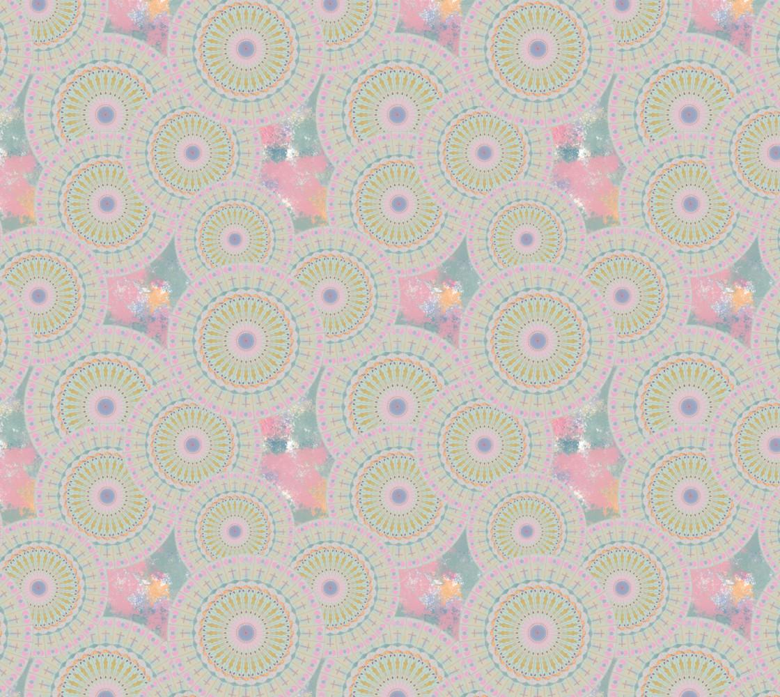 Pink Mandala Pattern Miniature #1