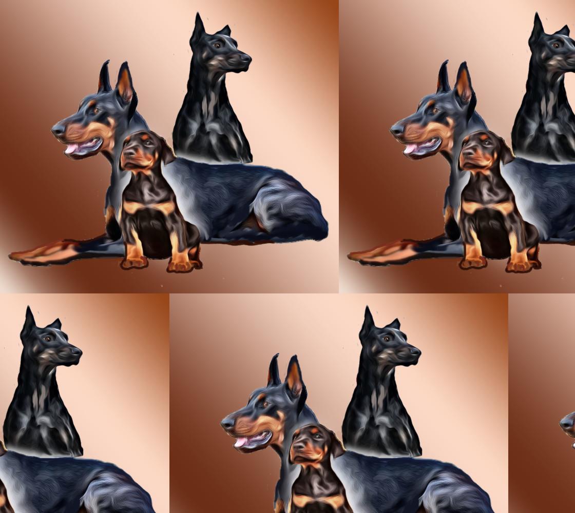 Doberman family thumbnail #1