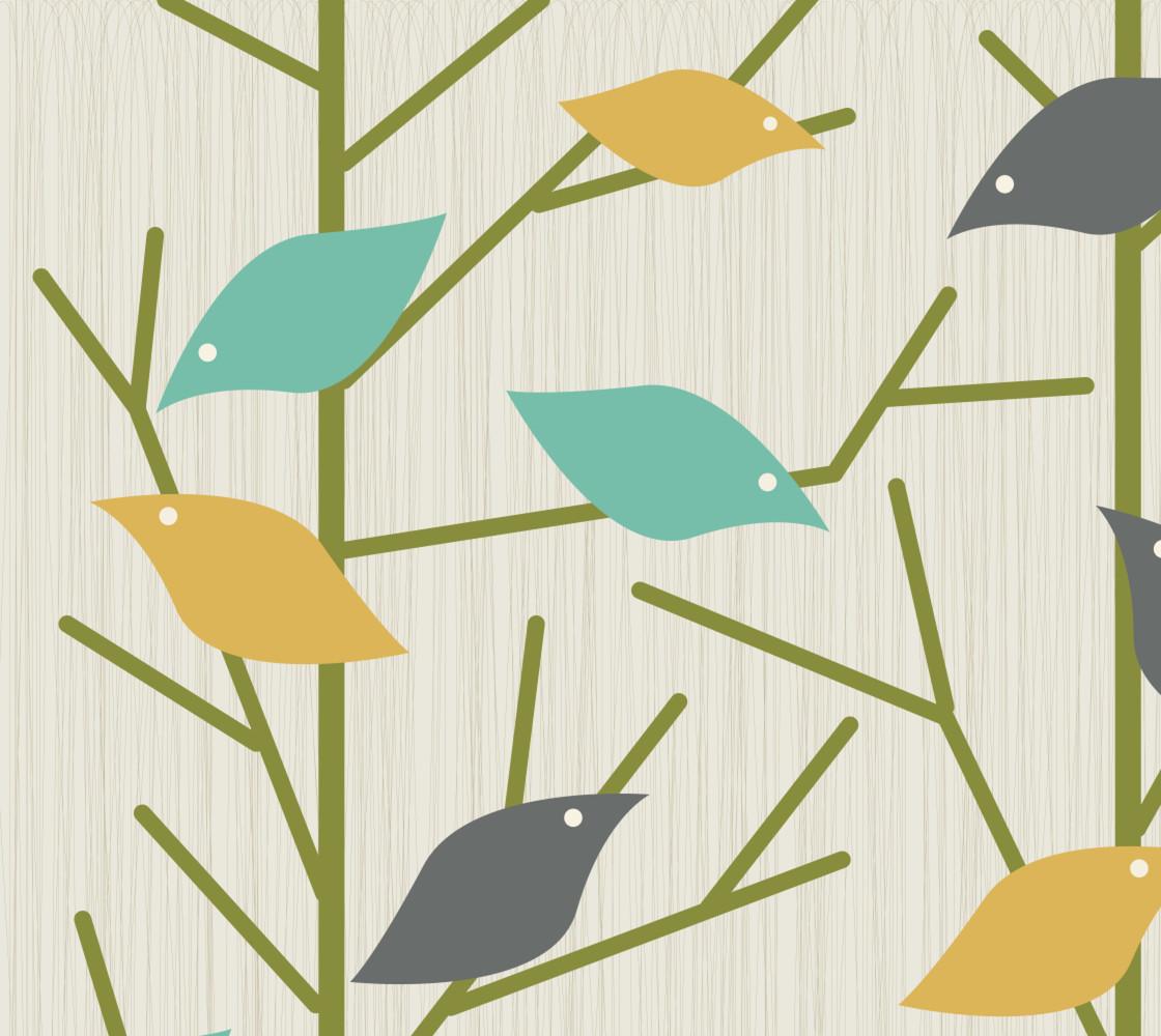 Mid-Century Modern Bird Song lrg thumbnail #1