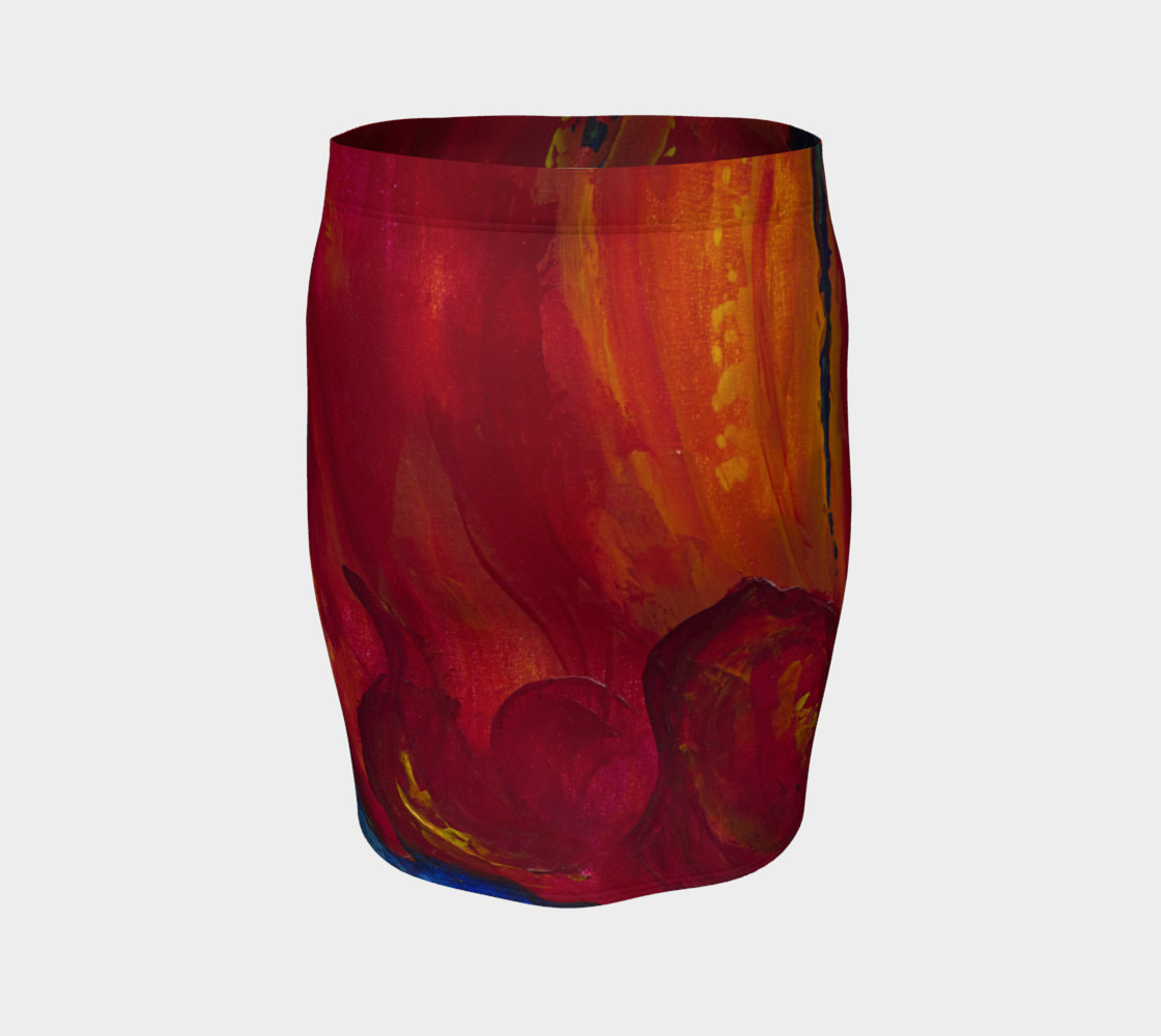 Aperçu de Red Poppy Skirt #4