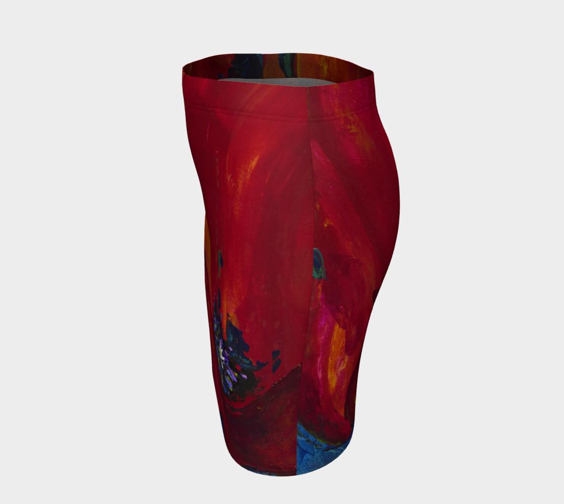 Aperçu de Red Poppy Skirt #2