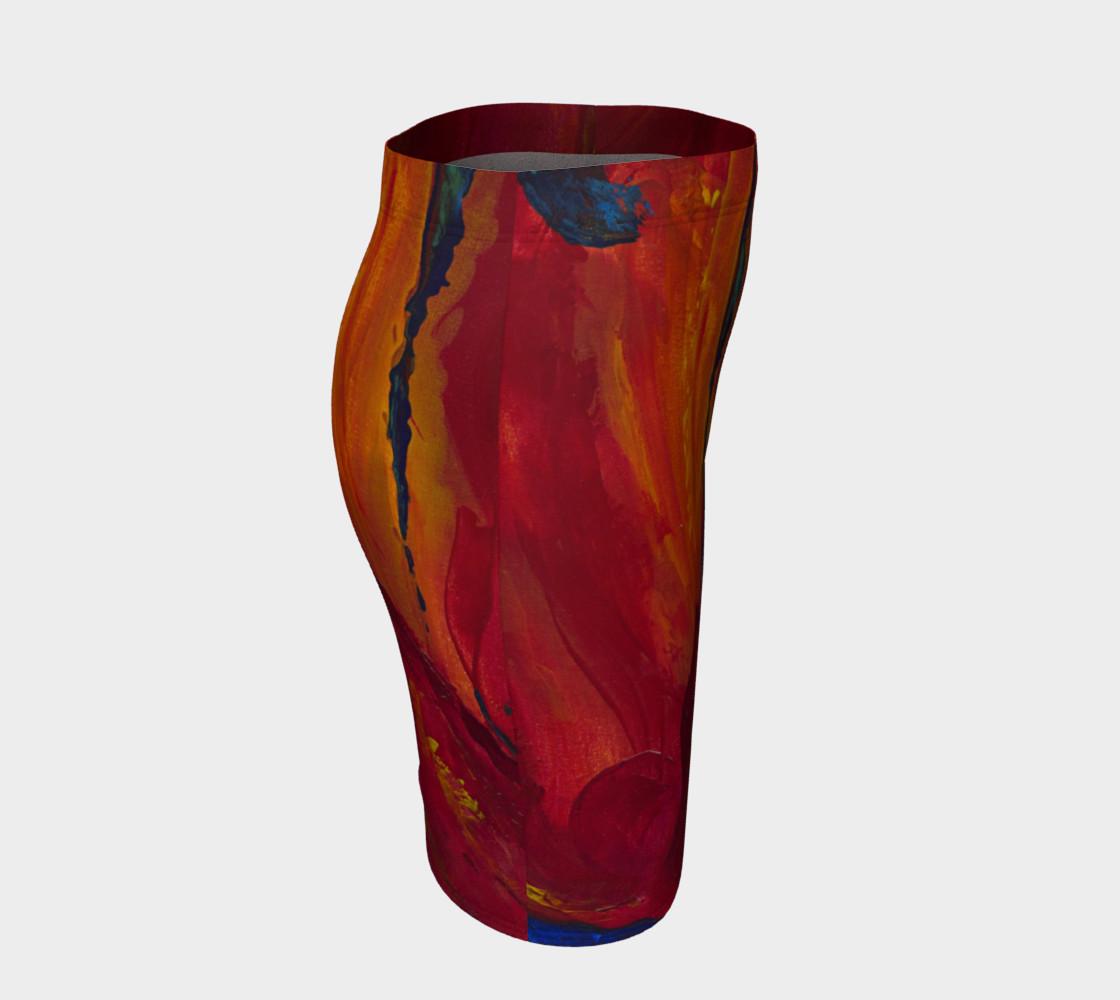 Aperçu de Red Poppy Skirt #3