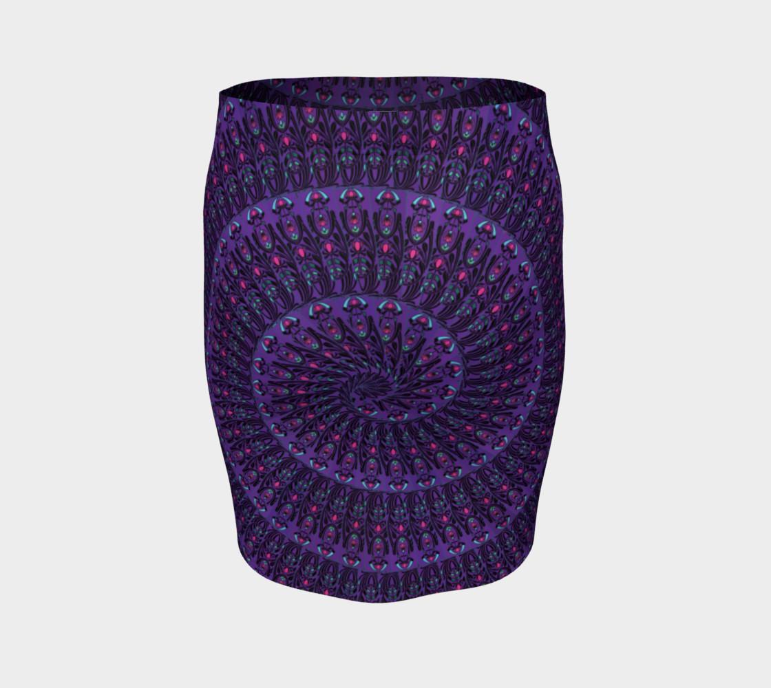 Aperçu de Nouveau Expansion Fitted Skirt #4