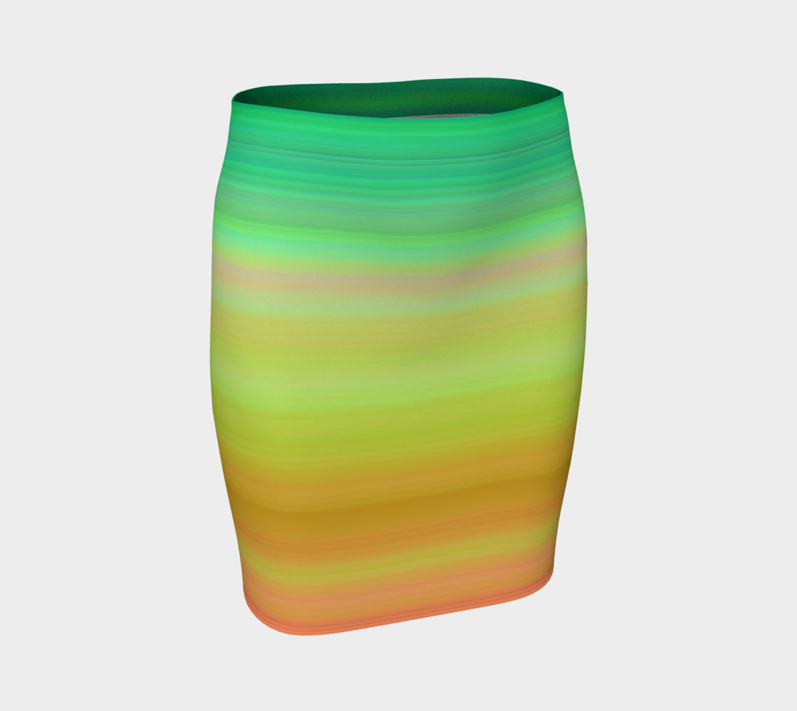 Aperçu 3D de Awaken Fitted Skirt