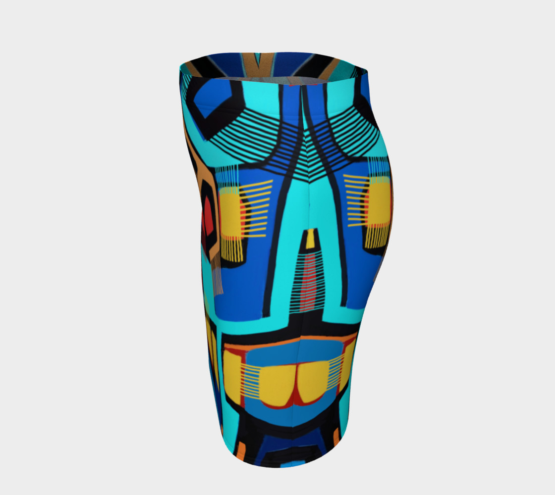 Blue Jazz Fitted Skirt preview #2