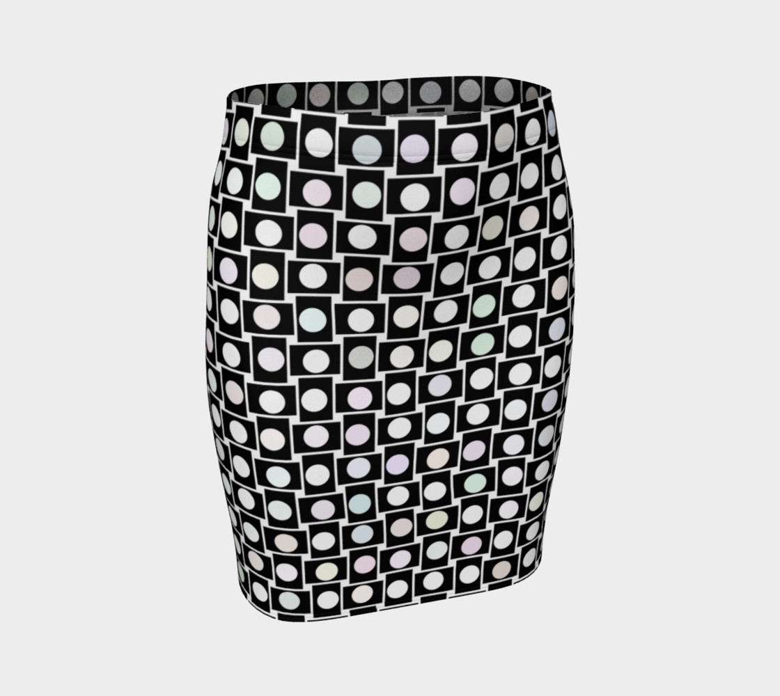 Mod Bod Fitted Skirt 3D preview