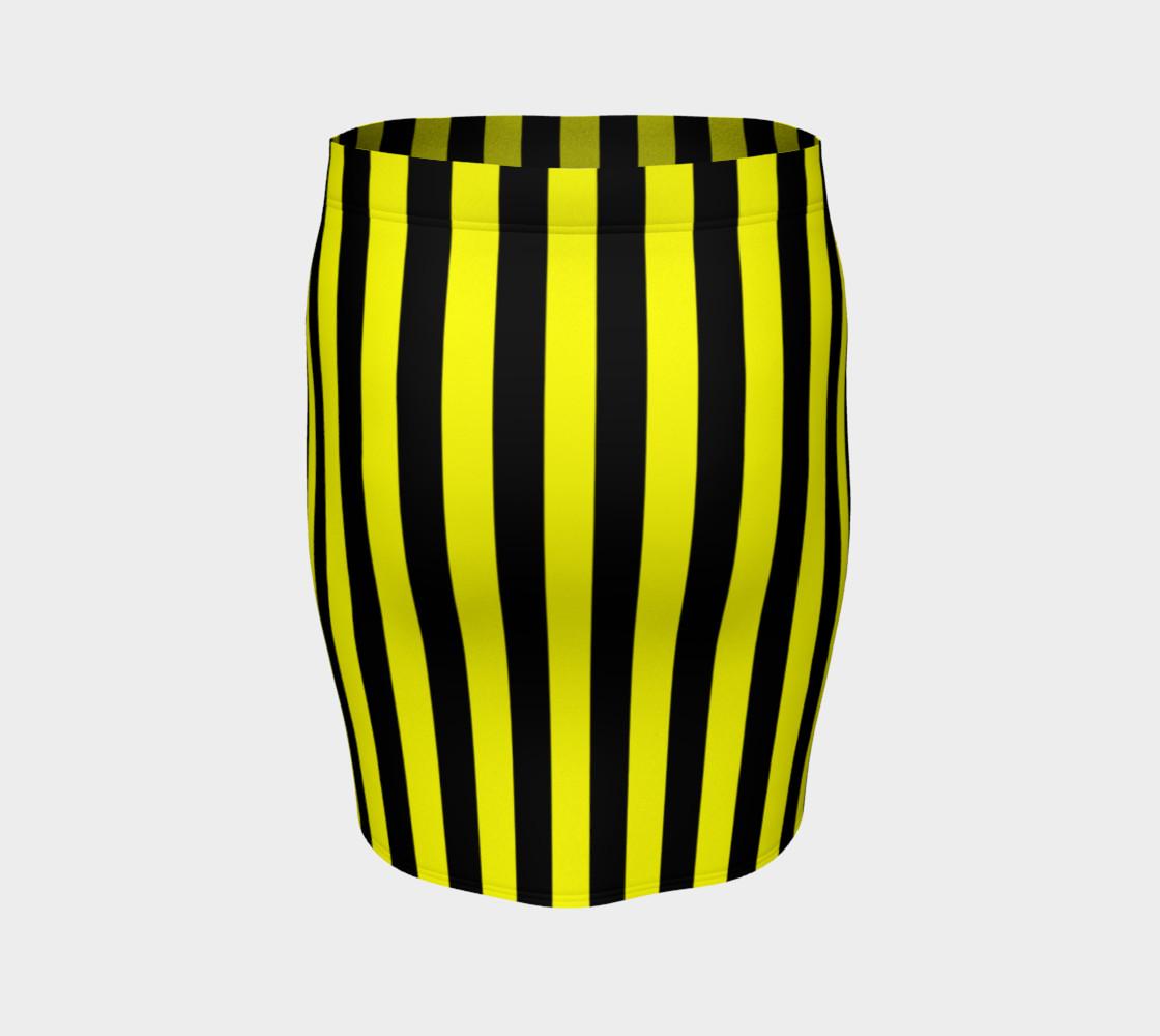 Aperçu de Black and Yellow Stripes #4