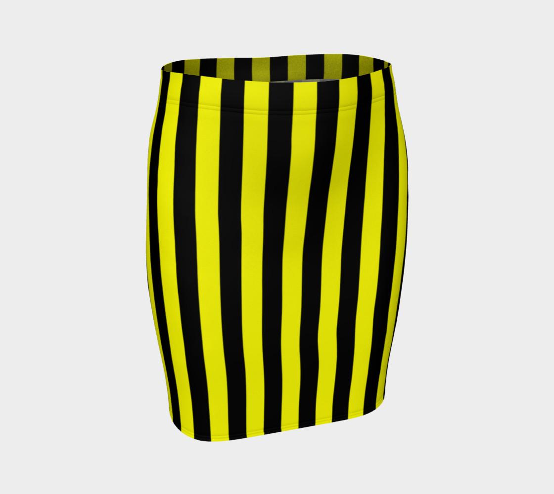 Aperçu de Black and Yellow Stripes #1