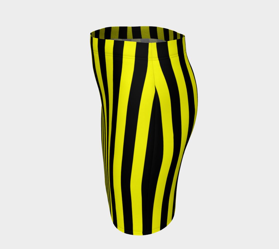 Aperçu de Black and Yellow Stripes #2