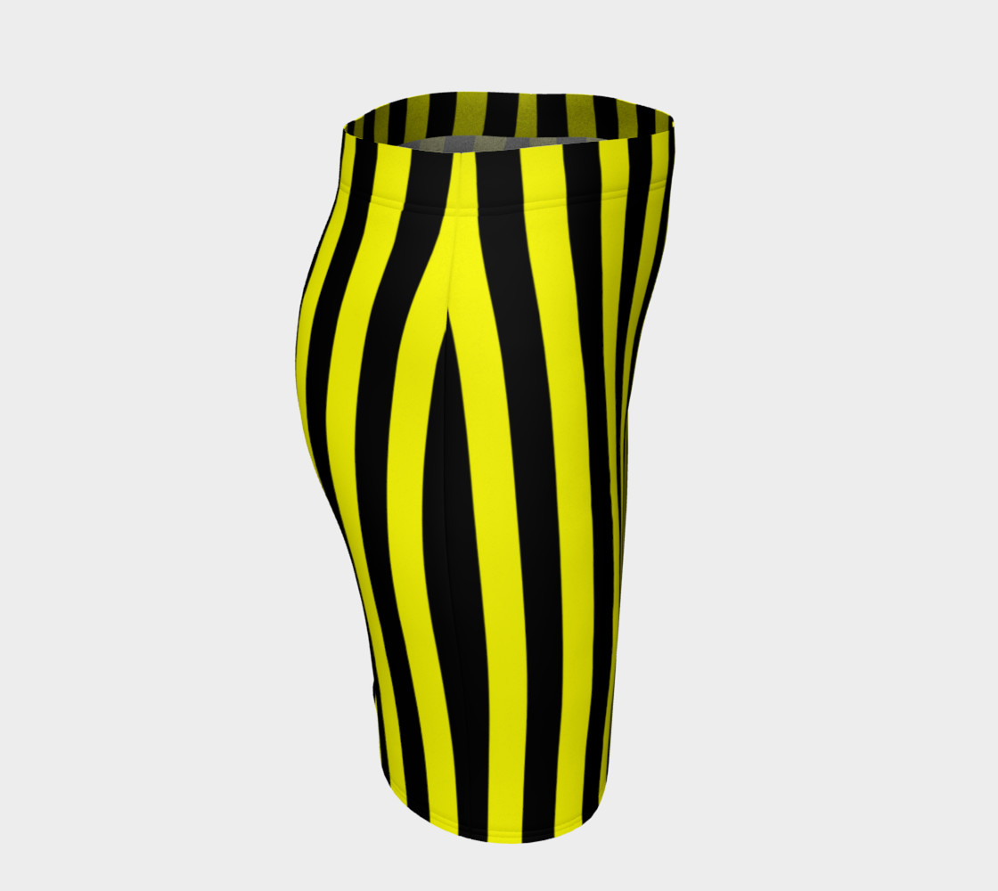 Aperçu de Black and Yellow Stripes #3