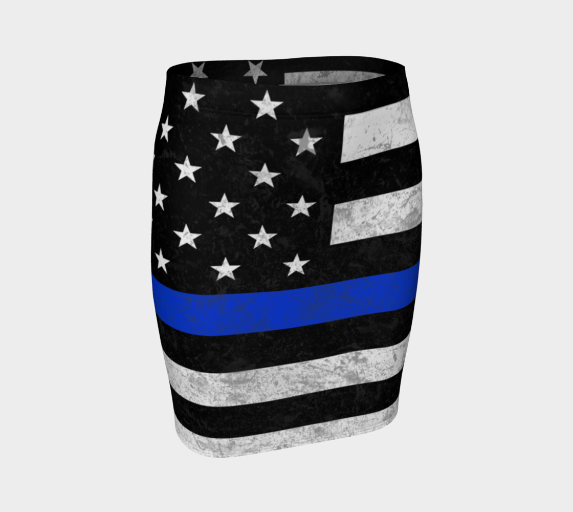 Those In Blue Fitted Skirt preview #1
