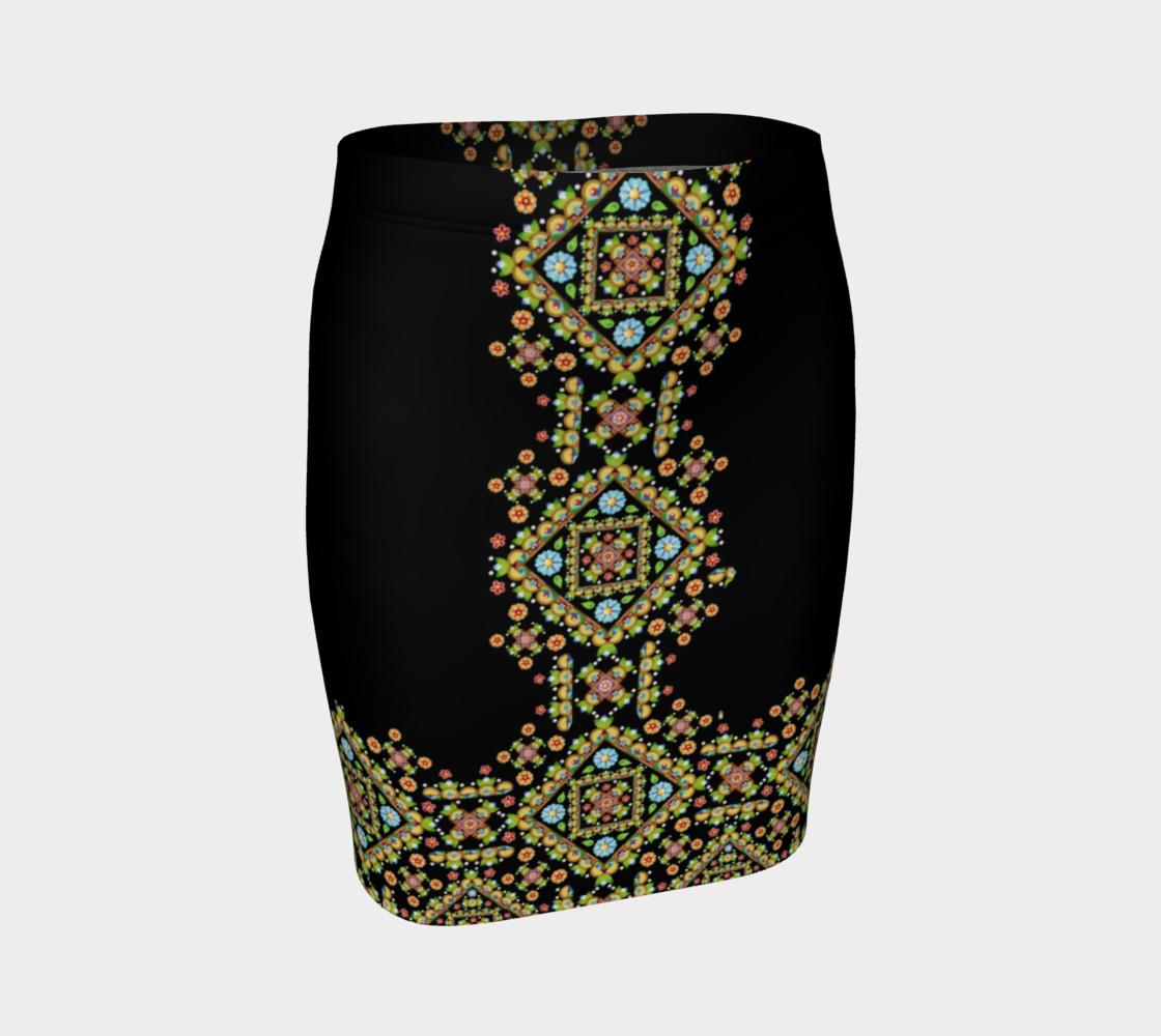 Aperçu de Cottage Garden Fitted Skirt #1