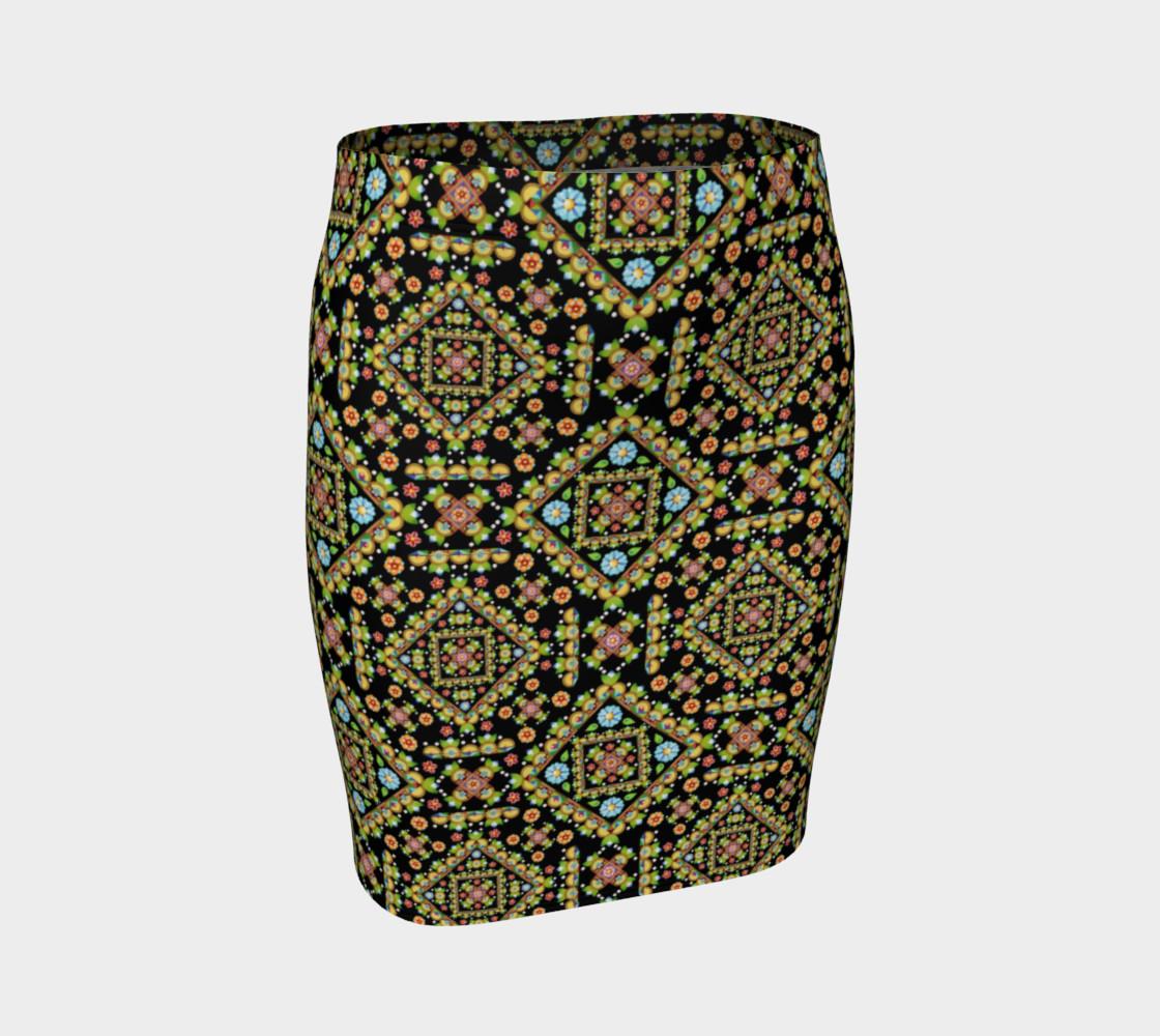 Aperçu de Cottage Garden Fitted Skirt allover #1