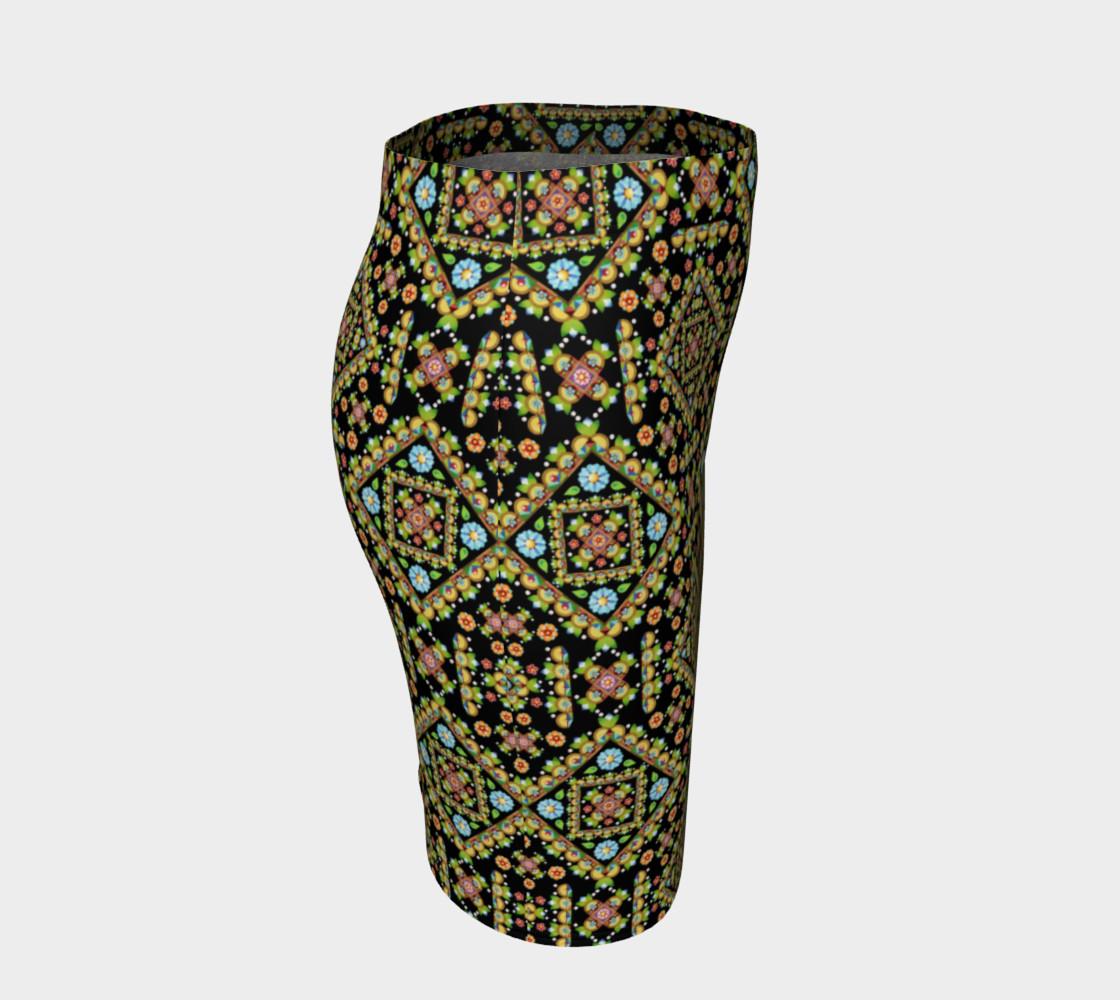 Aperçu de Cottage Garden Fitted Skirt allover #3