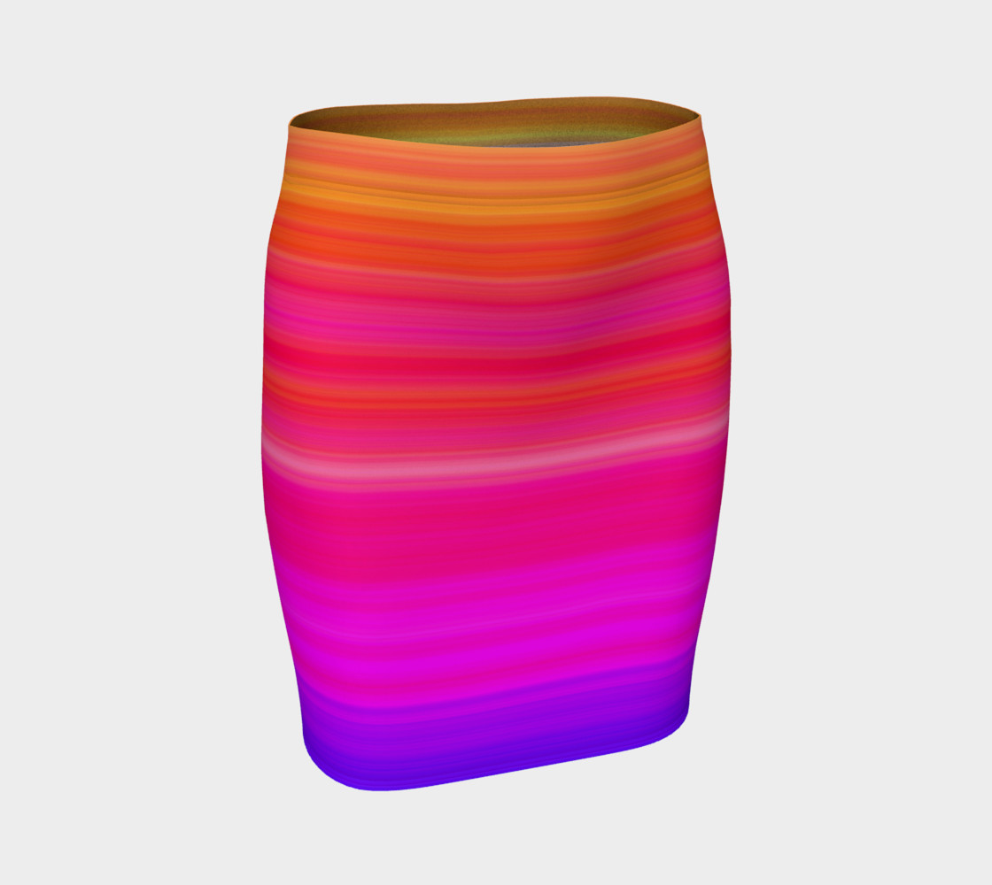Aperçu de Raise Your Vibe Fitted Skirt #1
