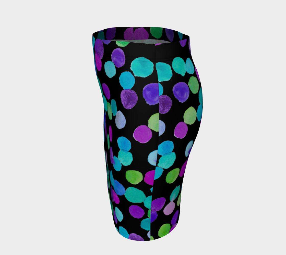 Aperçu de Blue Purple Watercolour Dots #2