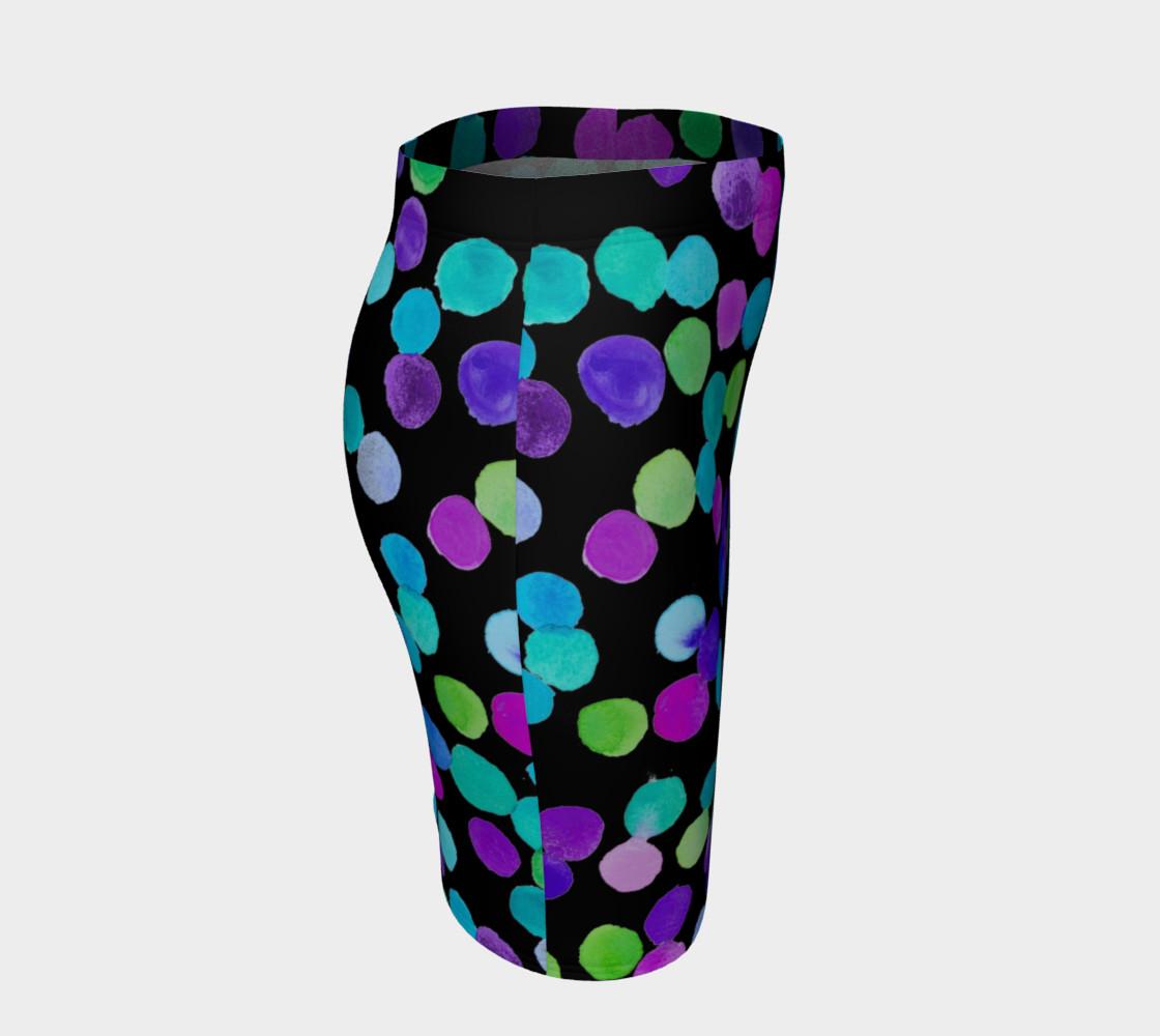 Aperçu de Blue Purple Watercolour Dots #3