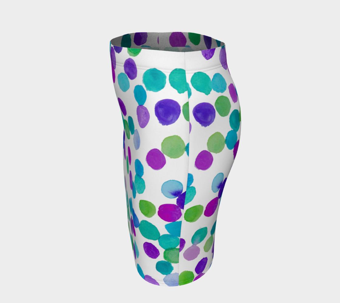 Blue Purple Watercolour Dots preview #2