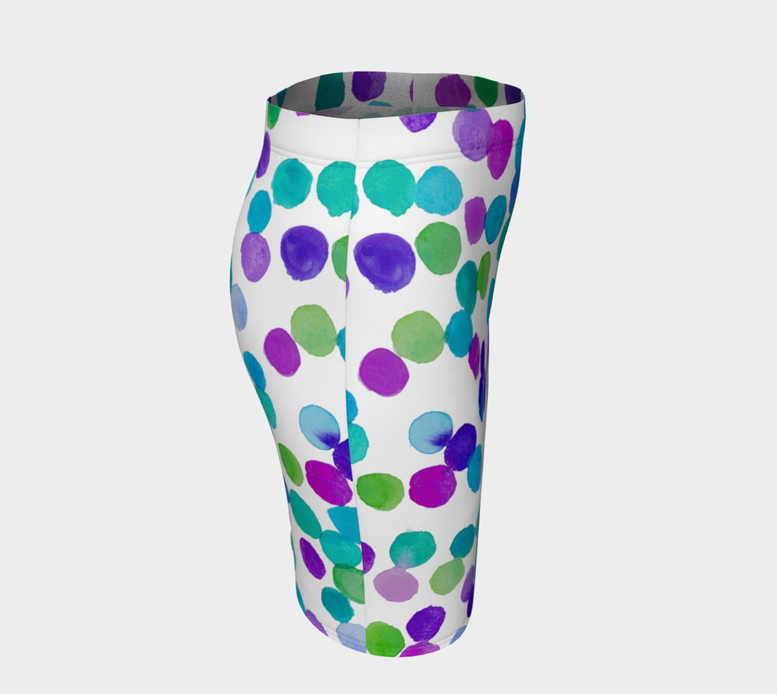 Blue Purple Watercolour Dots preview #3