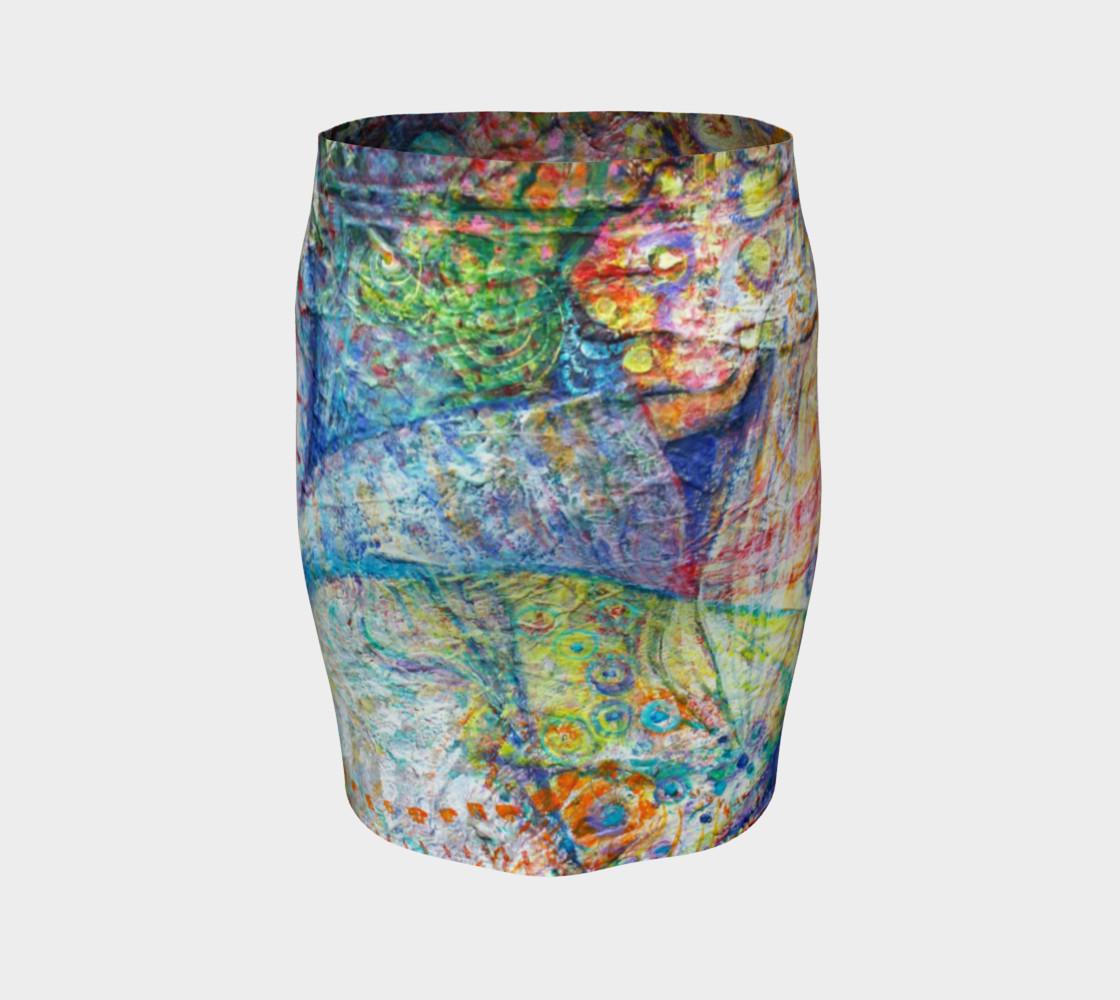 """Aperçu de """"Intuition"""" fitted skirt #4"""