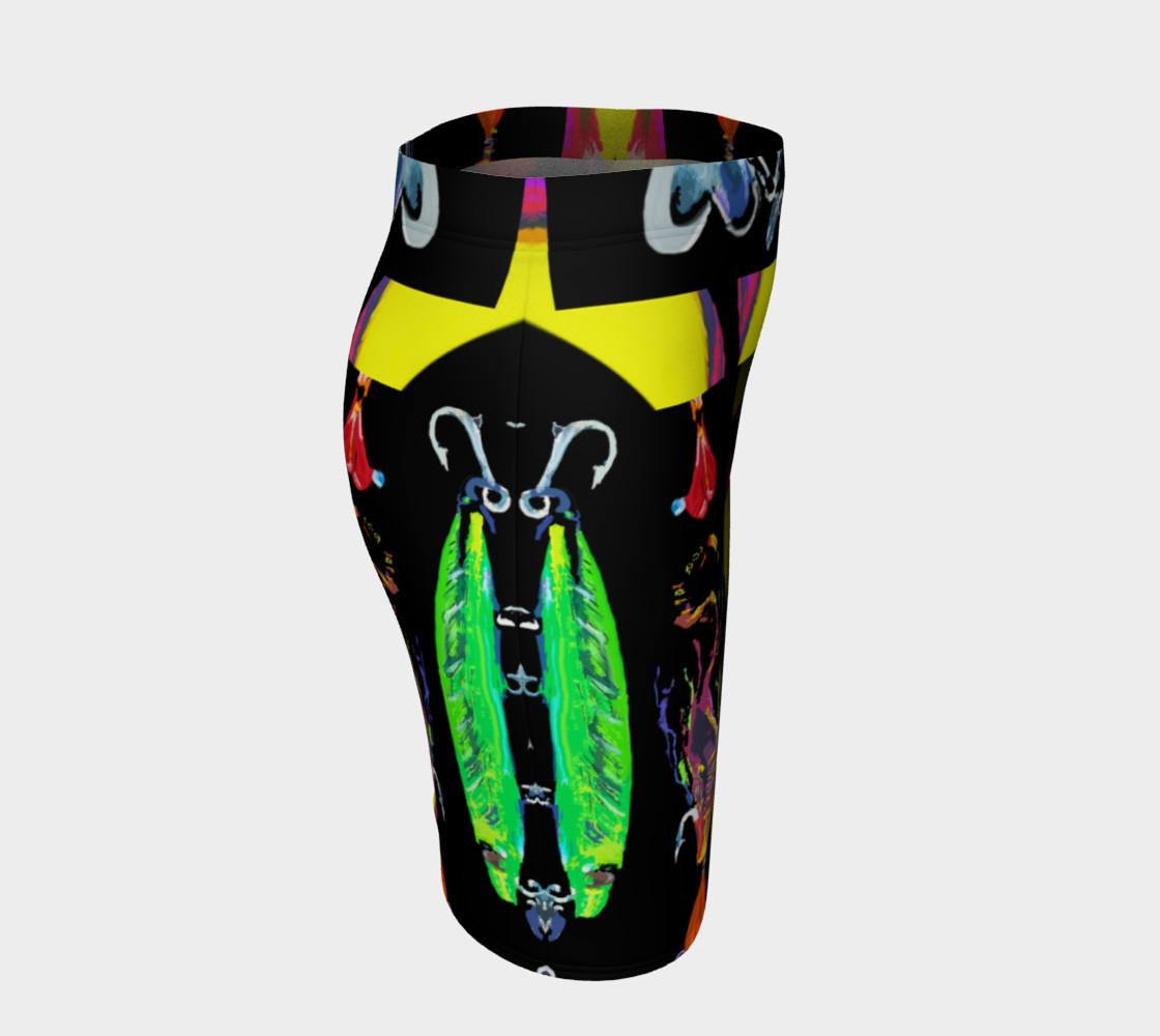Aperçu de The New a-Lure-ing You 3-d Optical-Print Super Skirt (Instant Convo Starter!) #3