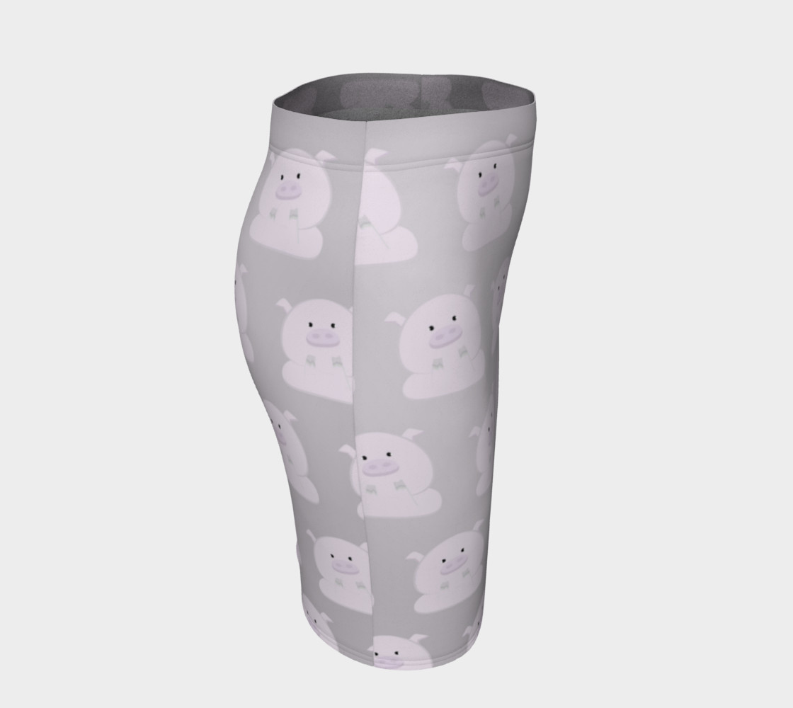 Pink Piggies on Grey preview #3