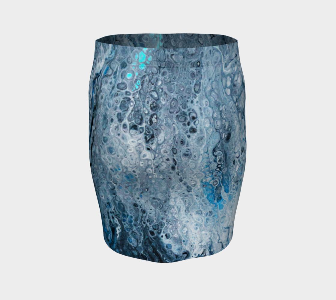 Earth's Oceans Acrylic Pour Art preview #4