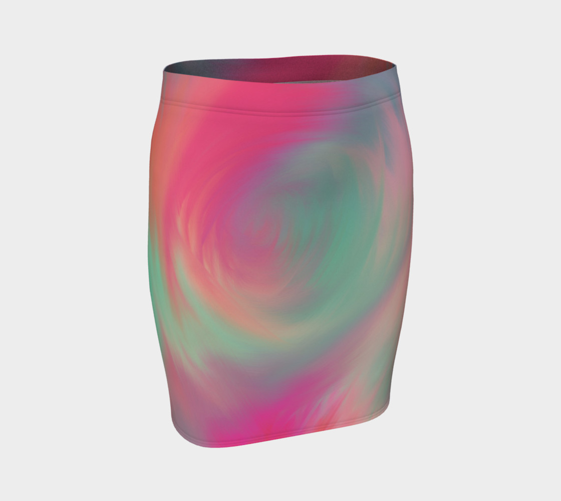 Pastel Perfect Fitted Skirt preview #1