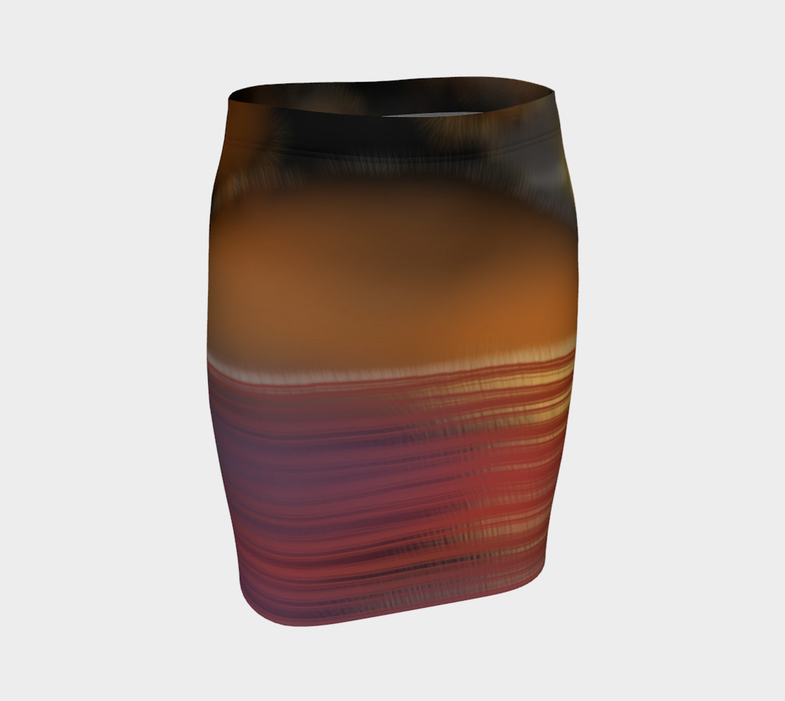 sunset pencil skirt preview #1