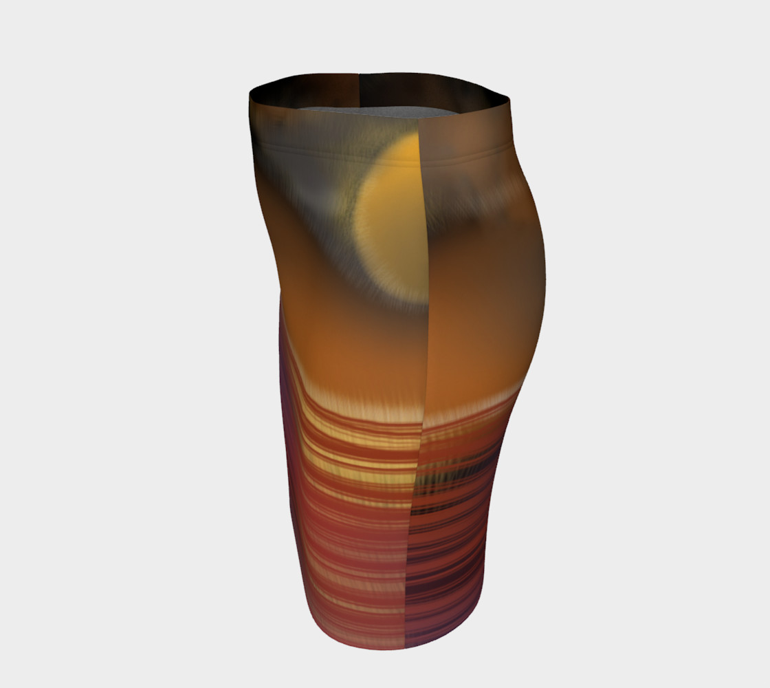 sunset pencil skirt preview #2