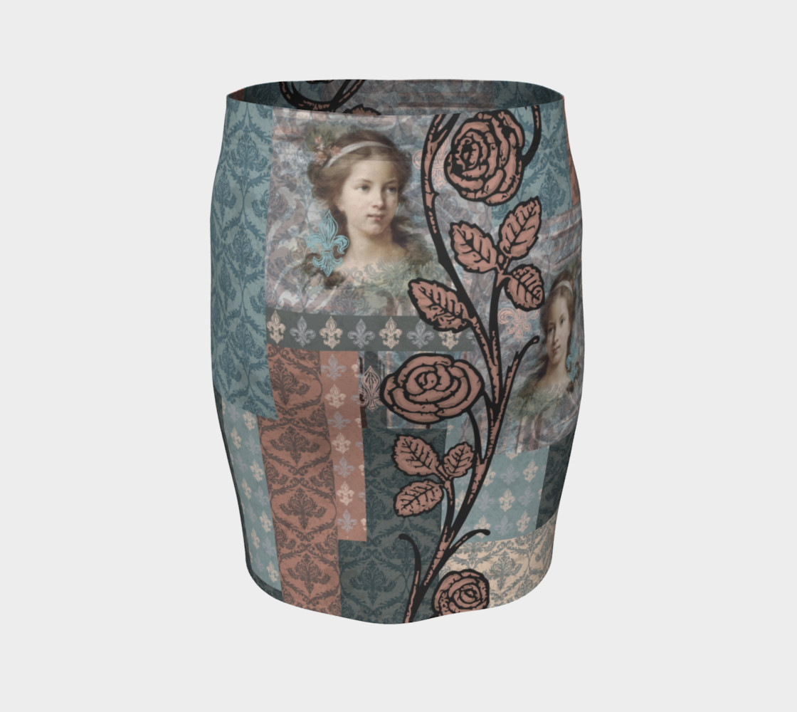 Roughly Royal Le Brun - Fitted Skirt preview #4