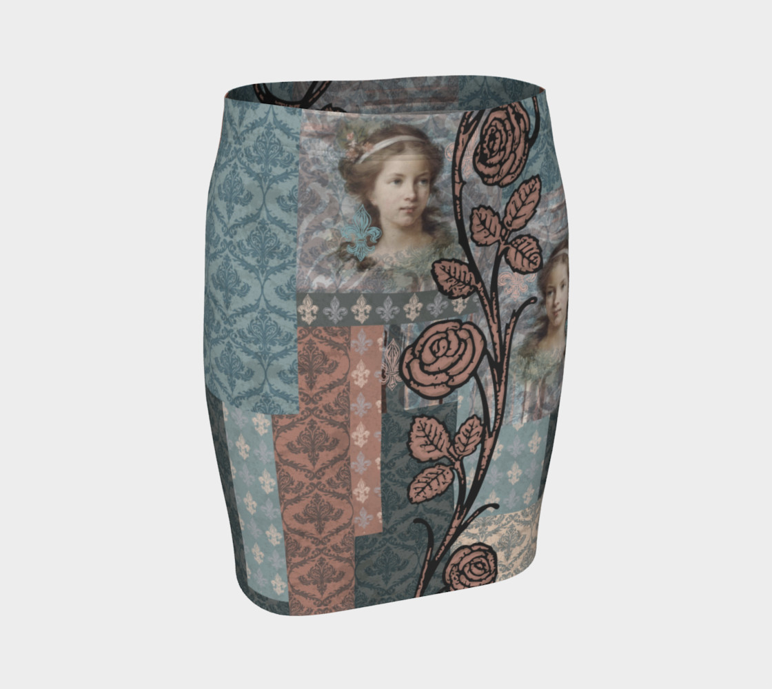 Roughly Royal Le Brun - Fitted Skirt preview #1