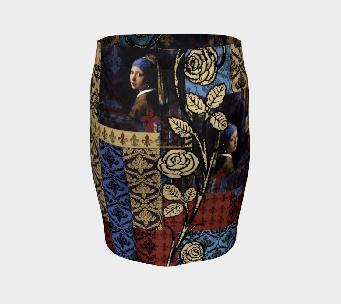 Roughly Royal Vermeer - Fitted Skirt preview #4