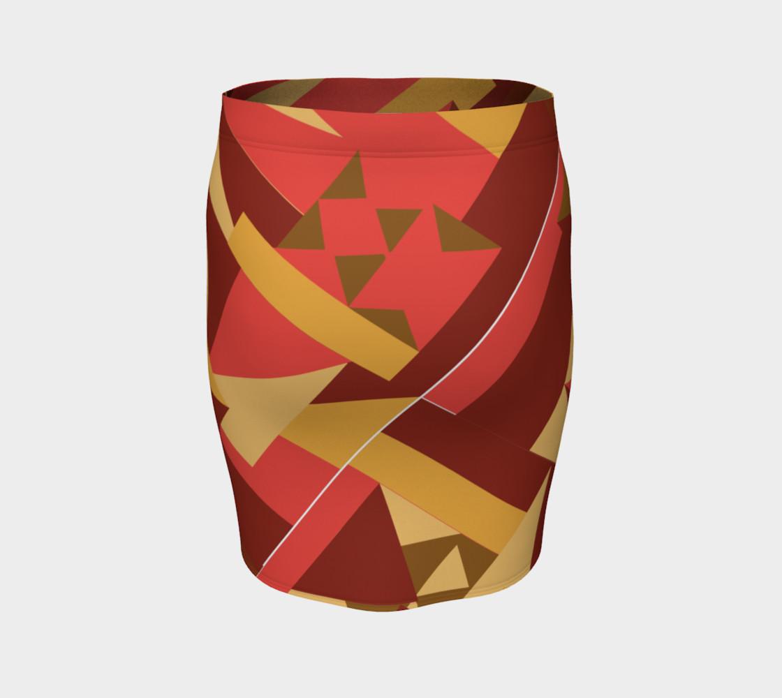 Bold Tribal Inspired Skirt preview #4
