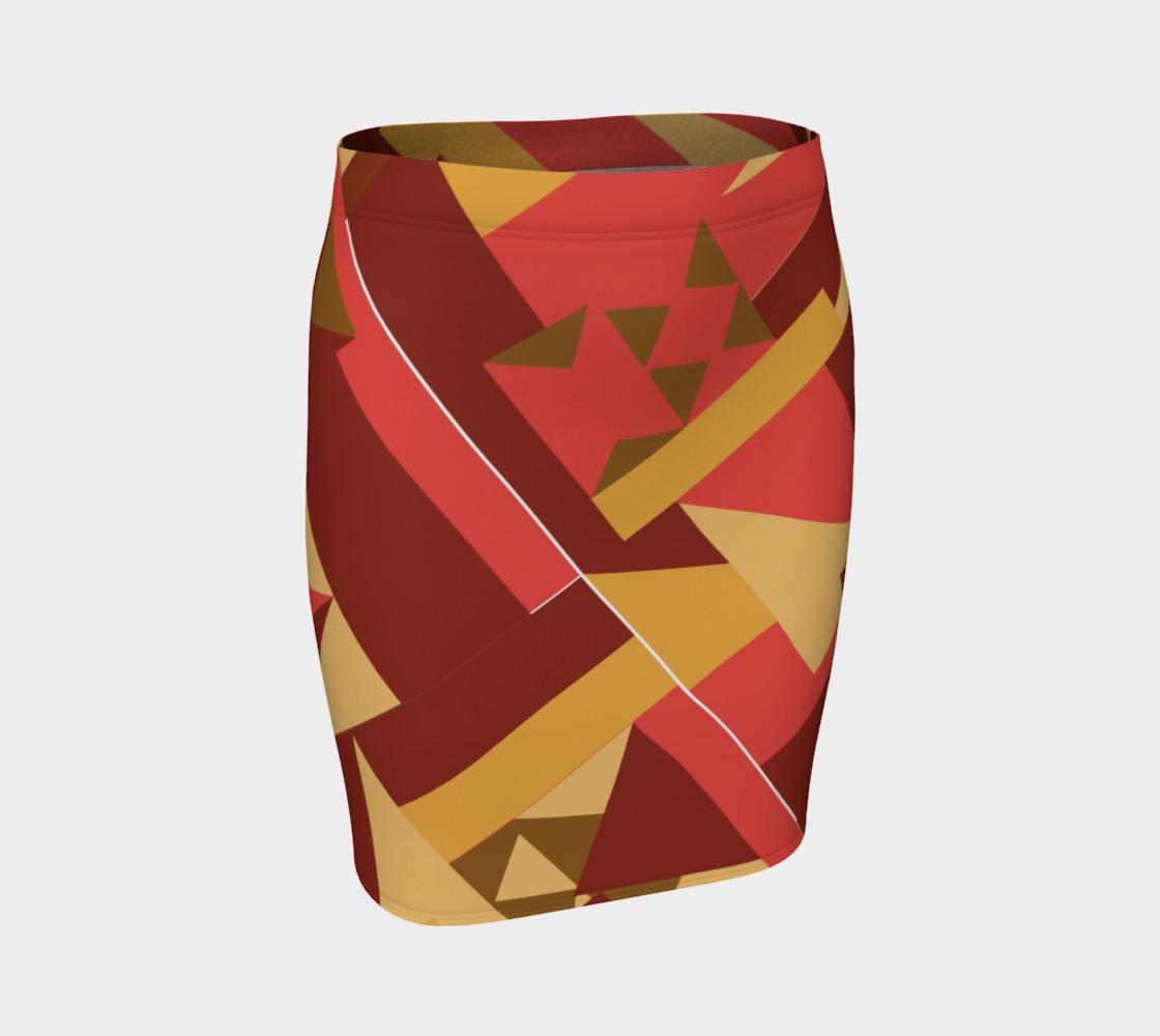 Bold Tribal Inspired Skirt preview #1