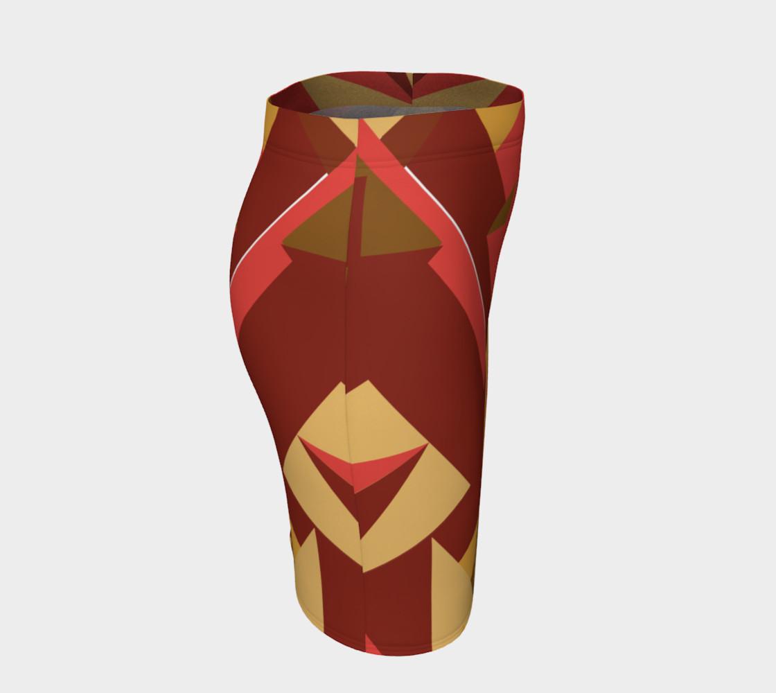 Bold Tribal Inspired Skirt preview #3