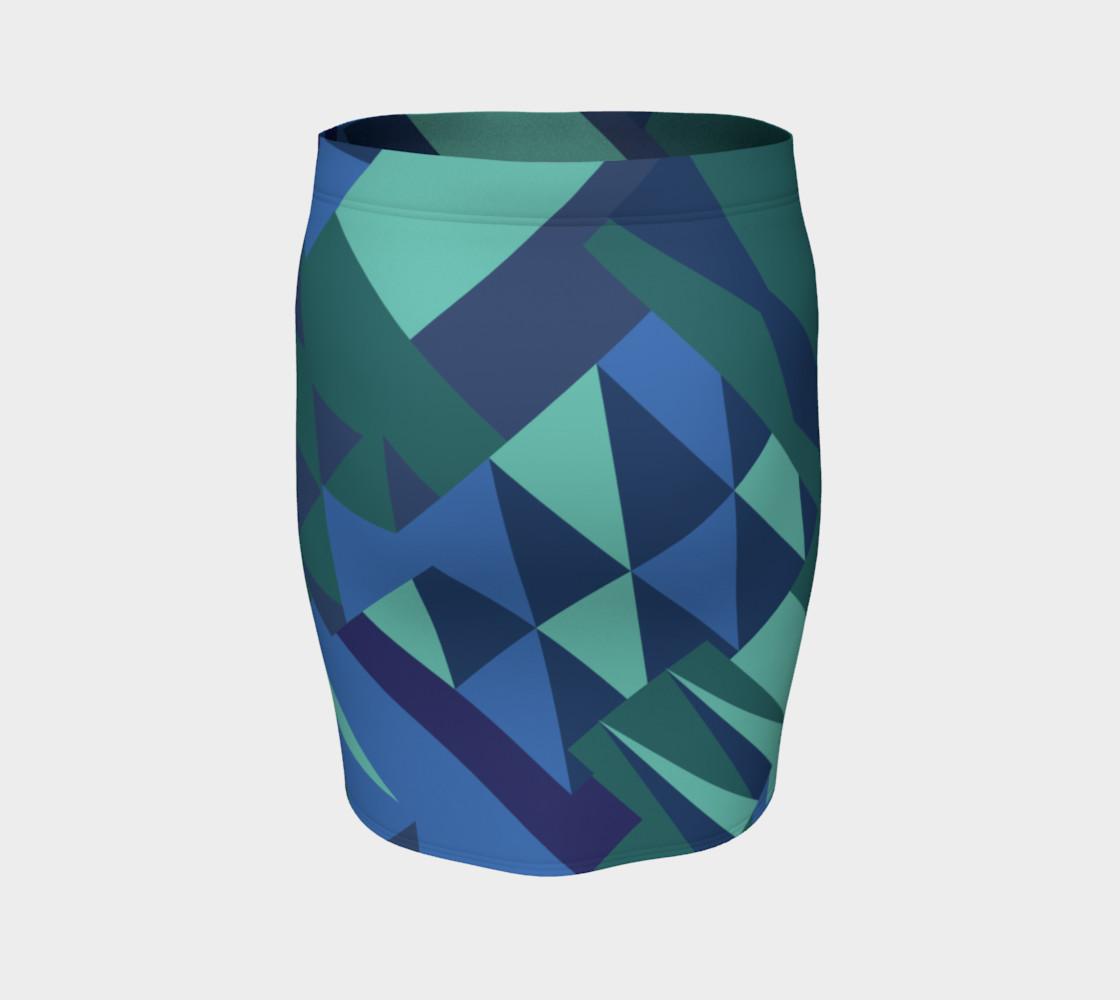 Erie Aqua Skirt preview #4