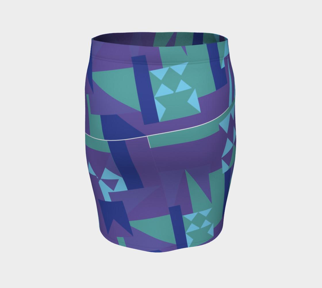 Erie Blue Skirt preview #4