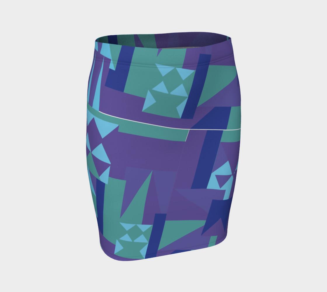 Erie Blue Skirt preview #1