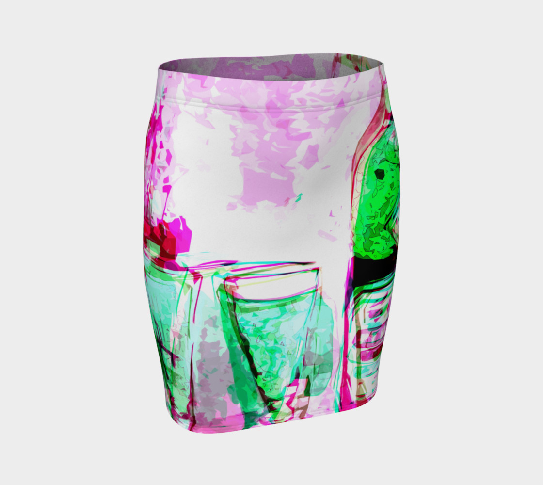 Abstract Absinthe & Pink preview #1