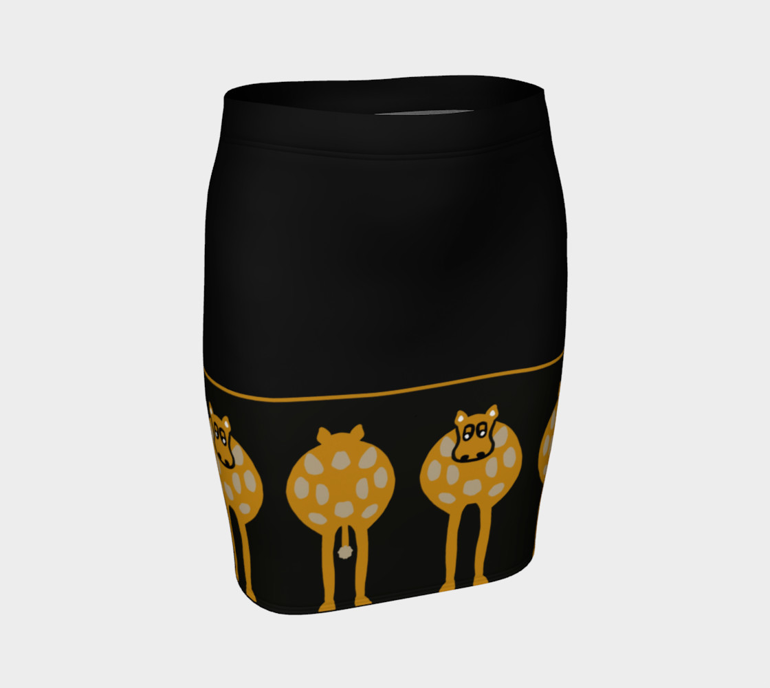 Silly Cow Fitted Skirt preview #1