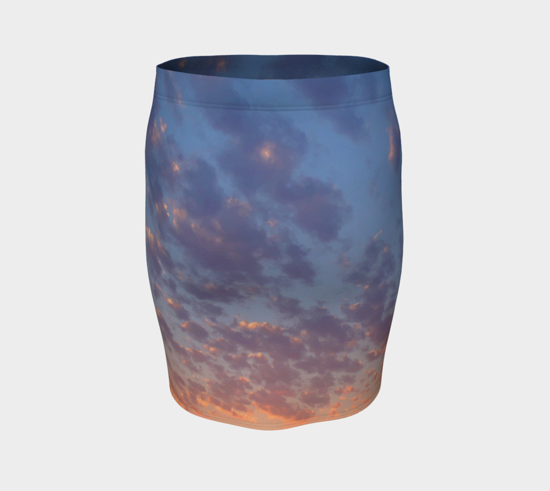 Endless Sky Fitted Skirt preview #4