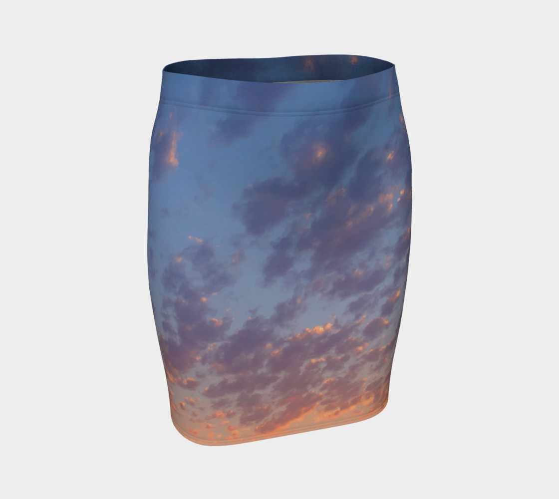 Endless Sky Fitted Skirt preview #1