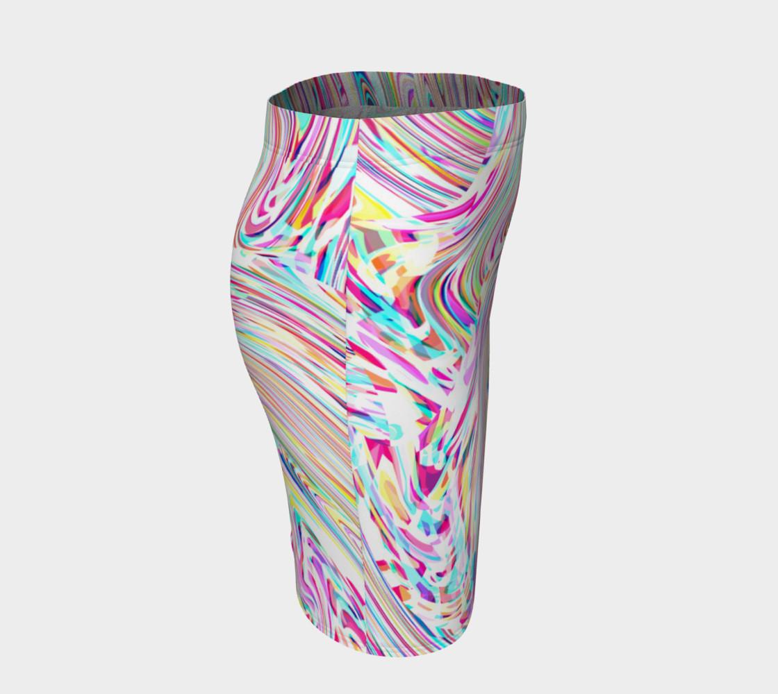 Bright Mesh Skirt preview #3
