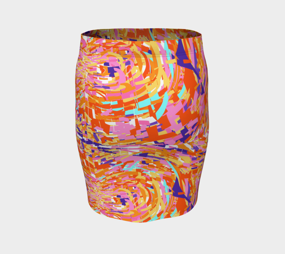 Color Shatter Skirt by KCS preview #4